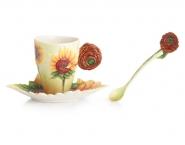 sunflowers-teacup